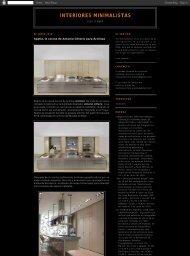 Interiores Minimalistas 02-Jun/2010