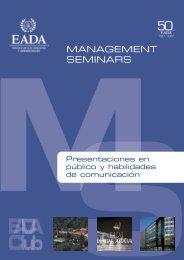 Presentaciones en Publico 2008:Maquetación 1.qxd - EADA