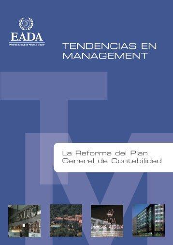 La Reforma del Plan General de Contabilidad - Eada