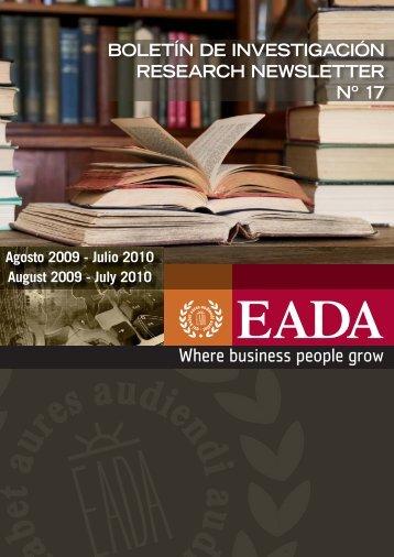 Boletín 17 - Eada