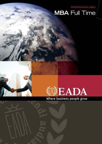 MBA Full Time - Barcelona - Spain - EADA