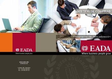 Gestión de Compras - Eada