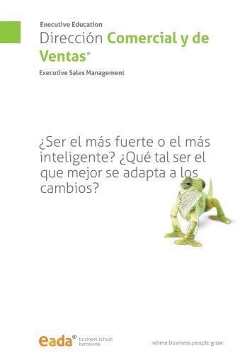 Programa Dirección Comercial y de ventas - Eada