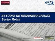 Estudio Remuneraciones para: El Sector del Retail - Eada