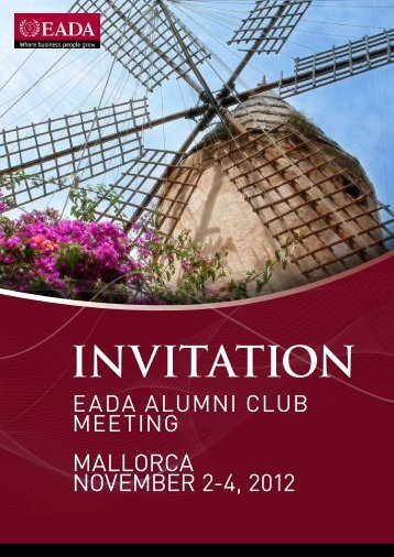 INVITATION - Eada