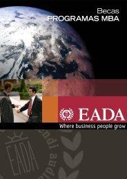 Becas programas MBA 2012-2013 - Eada