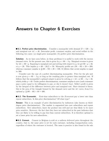 answers to chapter 3 exercises (answers to exercises for chapter 3: derivatives) a31 chapter 3: derivatives section 31: derivatives, tangent lines, and rates of change 1) a.