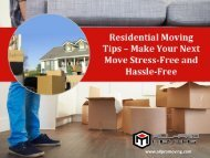 Residential Moving Tips – Hire Movers in San Antonio