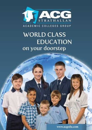 Download ACG Strathallan Prospectus - The Academic Colleges ...