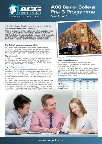ACG Senior College Flyer(864KB) - The Academic Colleges Group