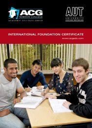 international foundation certificate - The Academic Colleges Group