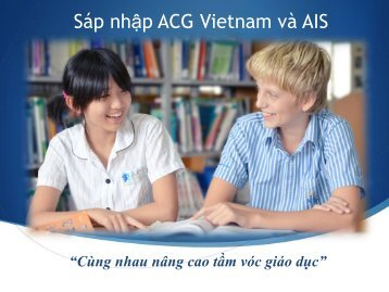 ACG Parent Presentation - The Academic Colleges Group