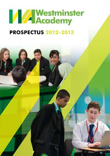 PROSPECTUS 2012-2013 - Westminster Academy