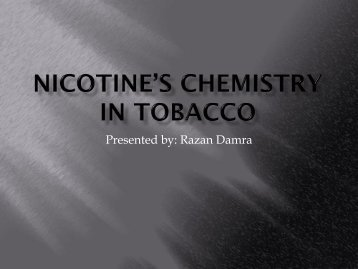 Nicotine - Quantum
