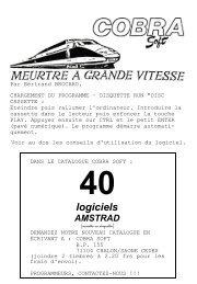 Meurtre à Grande Vitesse - Manuel (Français)