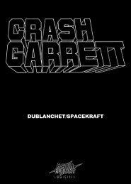 Crash Garrett - Manuel (Français)