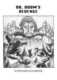 Dr Doom's revenge - Manuel (Français)