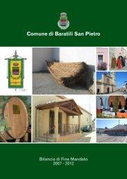 Il programma di Mandato - Comune di Baratili San Pietro