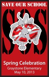 Spring Celebration Catalog - Graystonehsc.org