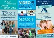 VIDEO MAGIC - Einkaufszentrum Abensberg