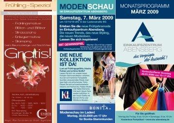 MODENSCHAU - Einkaufszentrum Abensberg