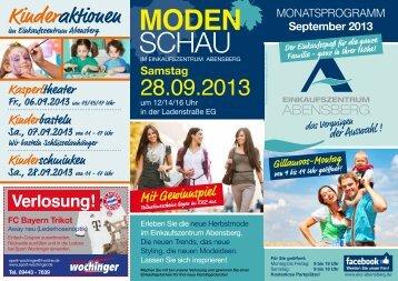 MODEN SCHAU - Einkaufszentrum Abensberg