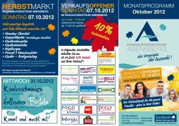 07.10.2012 - Einkaufszentrum Abensberg