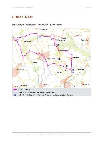 Strecke 3 (17 km) - Schechingen