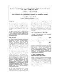 Design and Performance Analysis of a 1-40GHz Ultra-wideband ...
