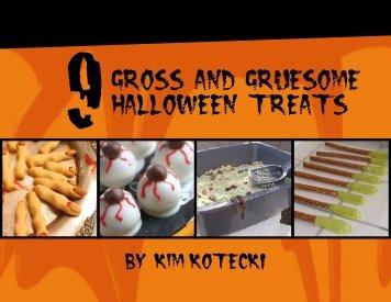 9Gross and Gruesome HAlloween Treats - KimandJason.com