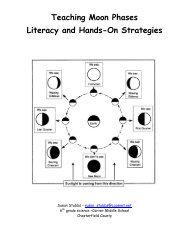 Teaching Moon Phases Literacy and Hands-On Strategies - ACT-ESL