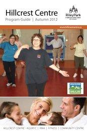 Adult - Hillcrest Recreation Centre