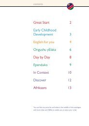 Great Start 2 Early Childhood Development 3 English for ... - Pearson