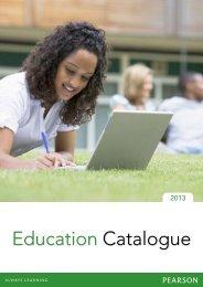 Education Catalogue - Pearson