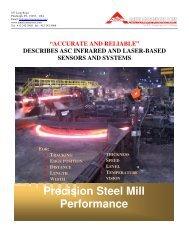 Precision Steel Mill Performance
