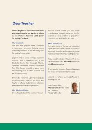 Junior Secondary Catalogue - Pearson