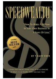 Speed Wealth (T. Harv Eker) - www.vizionary.business