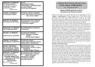 CLICCA QUI per visualizzare la versione PDF - Parrocchia Bariano