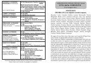 Avvisi della 21^ settimana dal 19 al 26 mag. 2013