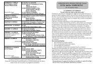 Avvisi della 15^ settimana dal 7 al 14 apr. 2013 - Parrocchia Bariano