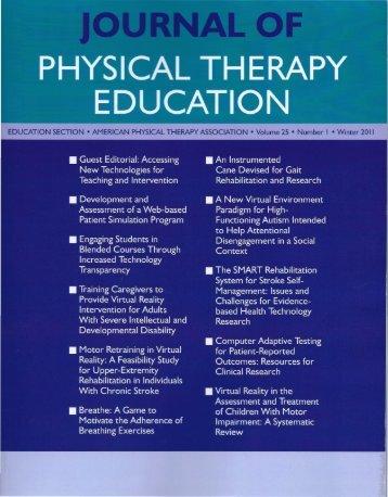 Full Text PDF - Tele-Rehabilitation Institute