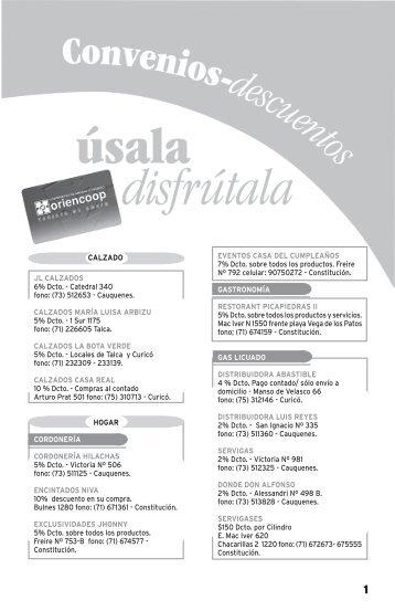 13 DE JULIO.indd - Oriencoop