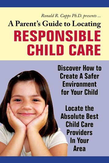 A Parent's Guide to Locating Responsible Child Care - Autism Today