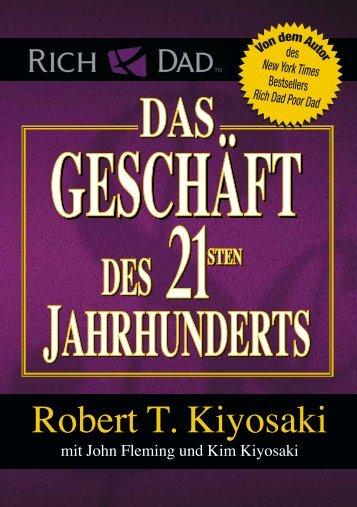 Das Geschäft des 21. Jahrhunderts als Leseprobe (Kiyosaki) - www.vizionary.business