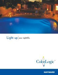 Hayward ColorLogic – Colored Lighting - Olympic Pools