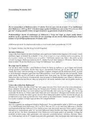 Pressemelding 30. oktober 2013 Du vet sannsynligvis at ... - SIFO