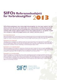 Budsjett - PDF - SIFO