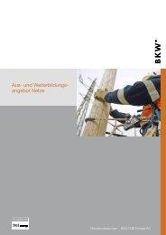 Aus- und Weiterbildungs- angebot Netze - BKW