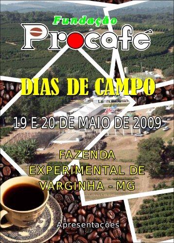 Procafé - Estações Apresentadas 2009.cdr - Fundação Procafé