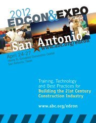 Doing things better EdCon & Expo is for you.